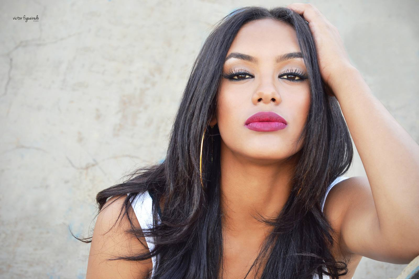Resultado de imagem para raissa santana miss brasil 2016 com cabelo liso