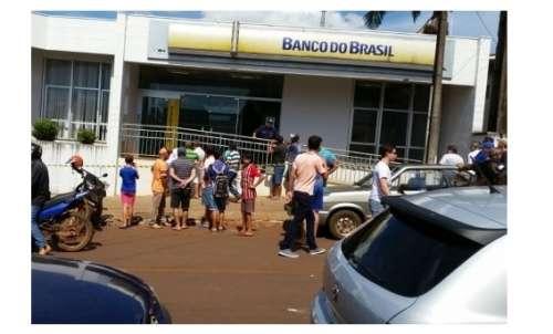 Assalto a Banco do Brasil deixa a população em pânico na cidade de Nova Cantu, Pr.