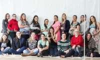 Catanduvas - CRAS proporcionou ensaio de fotos ao grupo de gestantes e comemoração ao seu dia. Veja fotos