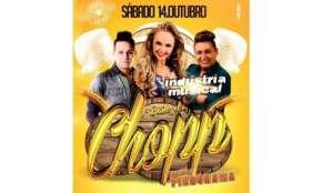 Quedas - Pindorama convida você para o 1º Baile do Chopp, dia 14 de outubro