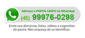 Adicione o PORTAL CANTU no WhatsApp - 45 9810-9787