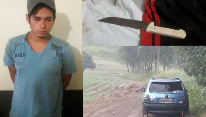Três Barras - Em Corbélia, tribarrense é preso por estupro