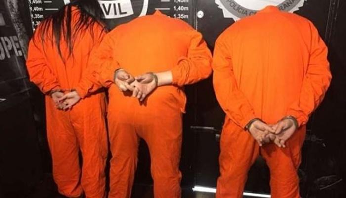Polícia prende trio envolvido em furtos e roubos a bancos e cofres