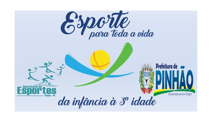 """c0e46ac28b7ec Pinhão - Prefeitura lança nesta semana o projeto """"Esporte Para Toda a Vida"""""""