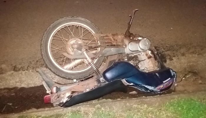 Ibema - Motociclista morre em violenta colisão na BR-277