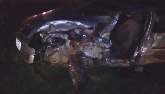 Laranjeiras - Acidente envolve três veículos e deixa uma criança morta