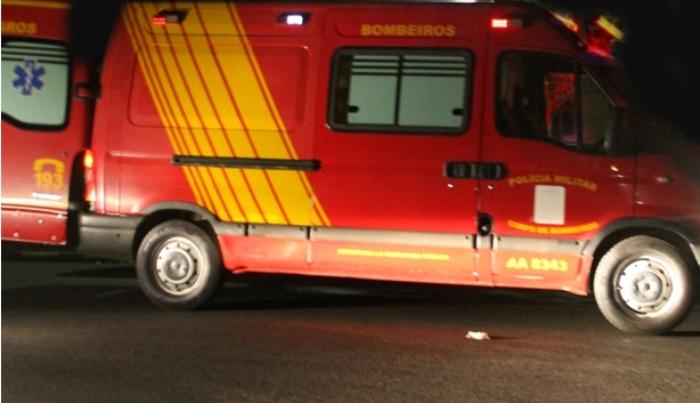 Virmond - Carro capota e deixa duas vítimas na BR-277
