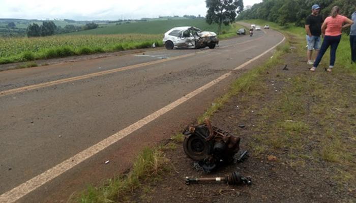 Rio Bonito - Polícia Rodoviária Estadual registra acidente na BR 158
