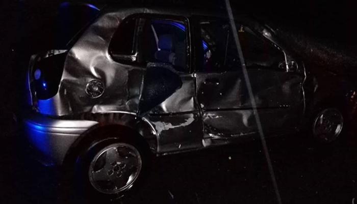 Guaraniaçu - PRF registra acidente envolvendo três veículos
