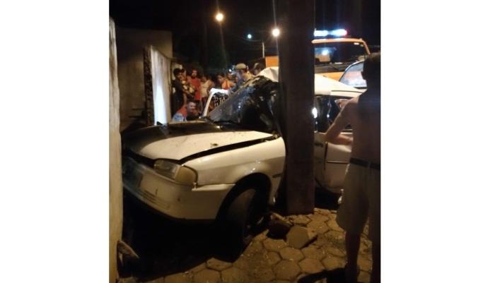 Laranjeiras - Gravíssimo acidente mobiliza equipes até o Cristo Rei