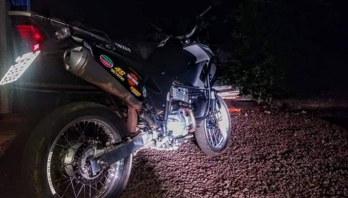 Quedas - Pedestre é atropelado por motociclista na PR-484