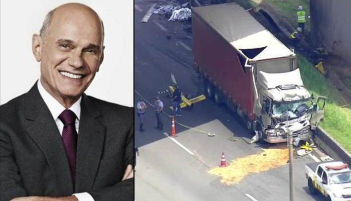 Ricardo Boechat morre em acidente de helicóptero