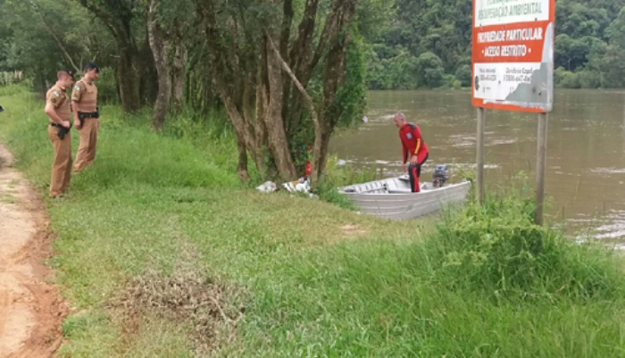 Jovem morre afogado no Rio Iguaçu