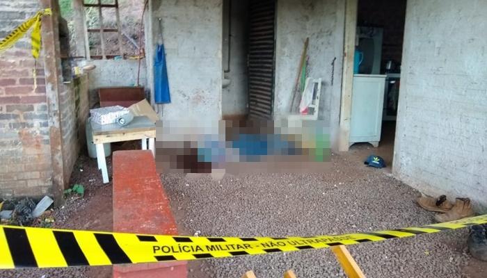 Homem mata ex-mulher, atira em enteado e tenta tirar a própria vida