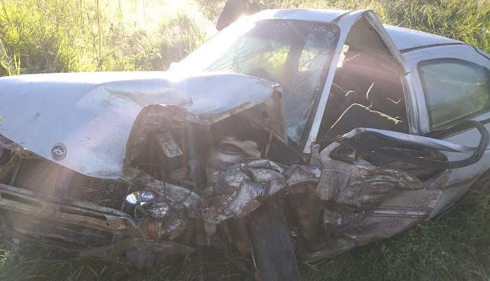 Laranjeiras - Grave acidente na BR 158 deixa uma pessoa morta e 7 feridas