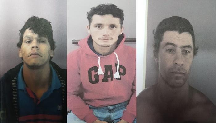 Guaraniaçu - Atenção!! Veja as fotos dos fugitivos da cadeia pública