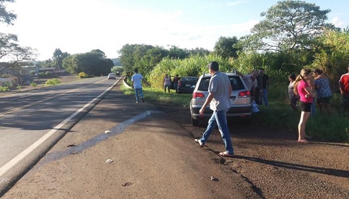 Nova Laranjeiras - Acidente é registrado na BR 277