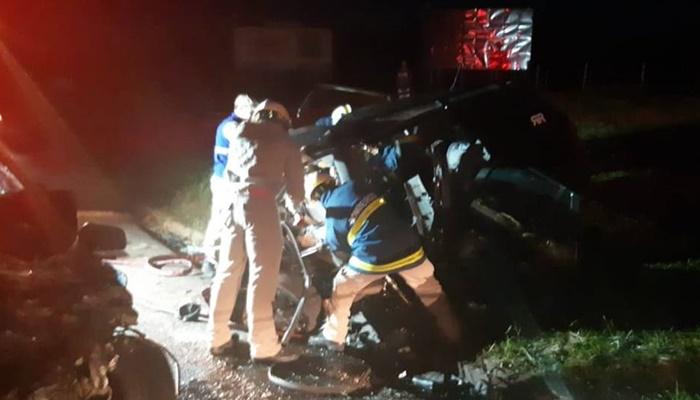 Seis pessoas morrem acidente no Paraná