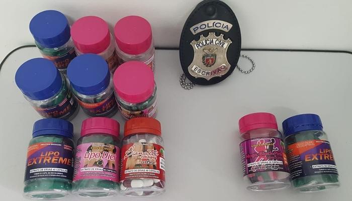 Laranjeiras - Polícia realiza prisões por venda suspeita de produtos para emagrecer