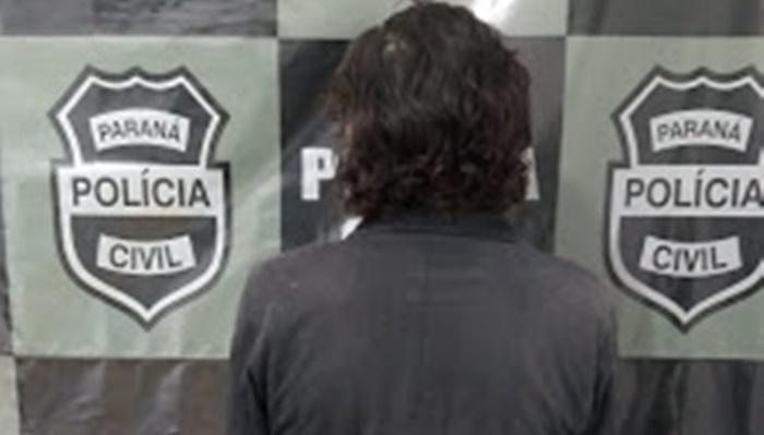 Laranjeiras - Policia Civil prende homem acusado de praticar Violência Doméstica e Descumprimento Judicial