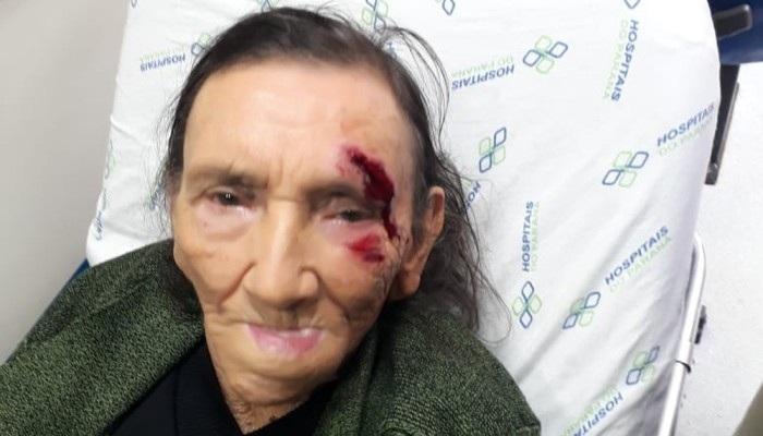 Idosa de 84 anos se feriu em frente ao banco após funcionário se recusar a realizar atendimento