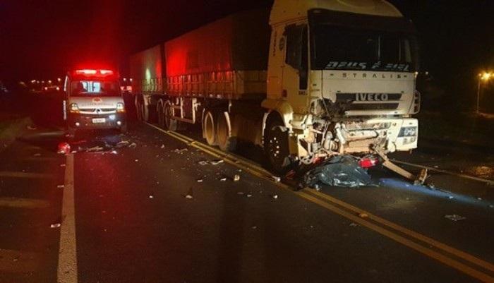 Dois adolescentes morrem em grave acidente na BR 277, em Santa Tereza do Oeste