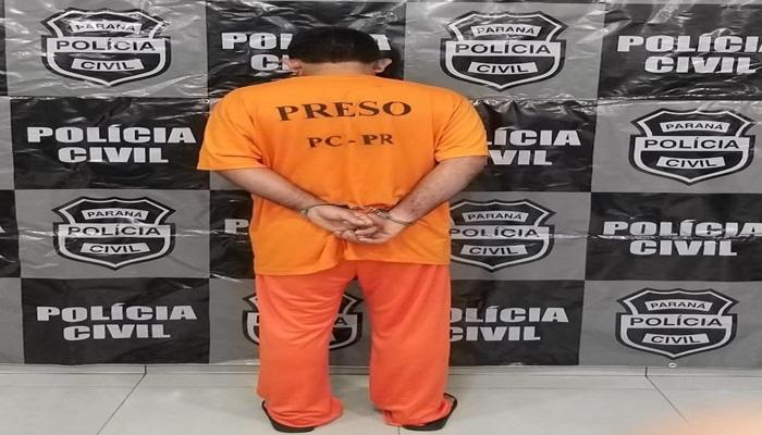 Nova Laranjeiras - Polícia Civil prende acusado de estupro na Linha Xagu