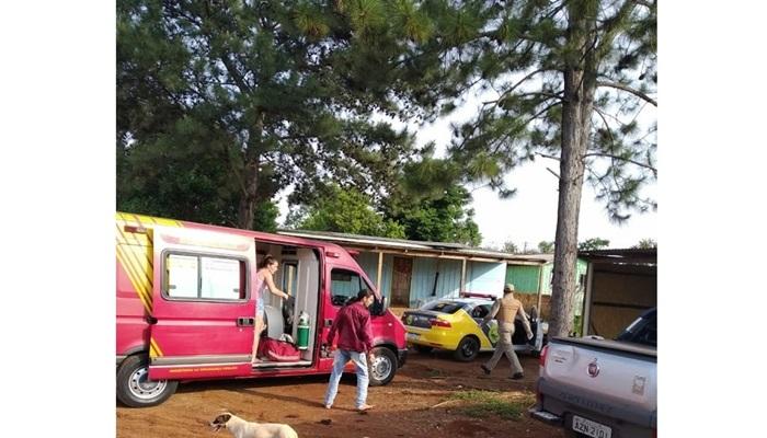 Laranjeiras do Sul - Homem é alvejado com vários tiros