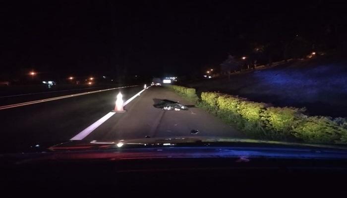 Nova Laranjeiras - Homem morre atropelado na BR 277