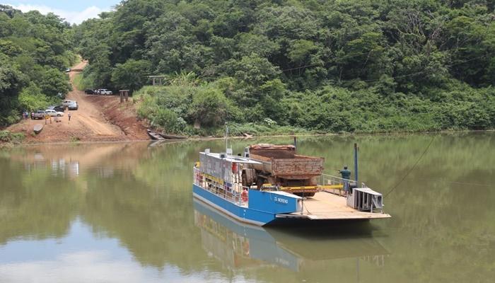 Balsa do Rio Piquiri de travessia entre Campina da Lagoa a Guaraniaçu é interditada pela Marinha