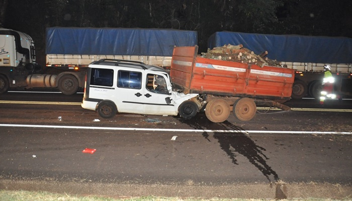 Guaraniaçu - Grave acidente é registrado na BR 277
