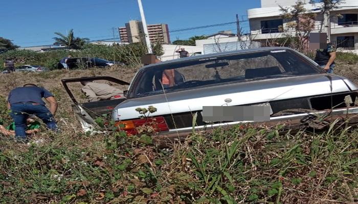 Laranjeiras - Mulher fica gravemente ferida em acidente