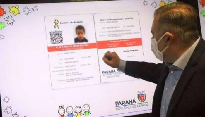 500 paranaenses já solicitaram a Carteira do Autista