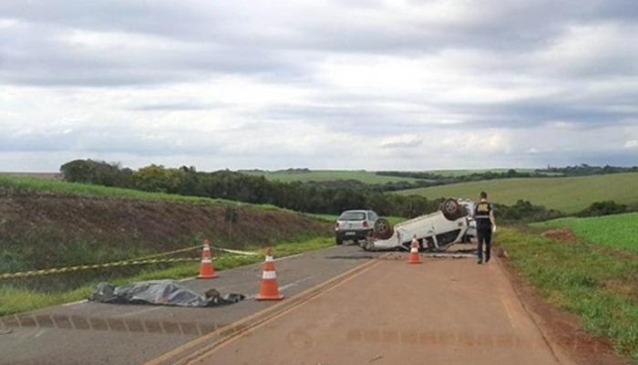 Pinhão - Adolescente morre em acidente na PR-459